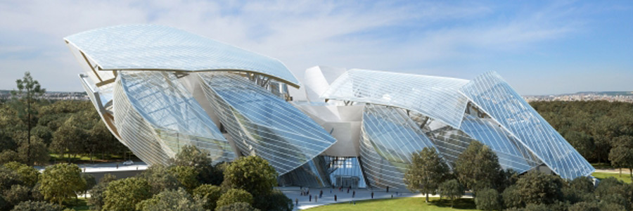 Frank Gehry Louis Vuitton Foundation Building Gogglepix